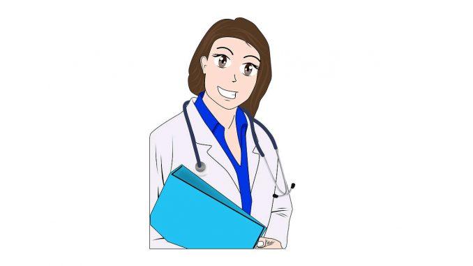 רופאה המספקת רשיון לקנאביס רפואי