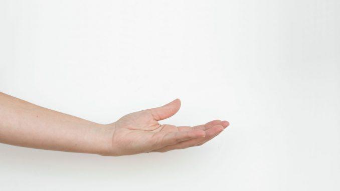 כף יד מושטת