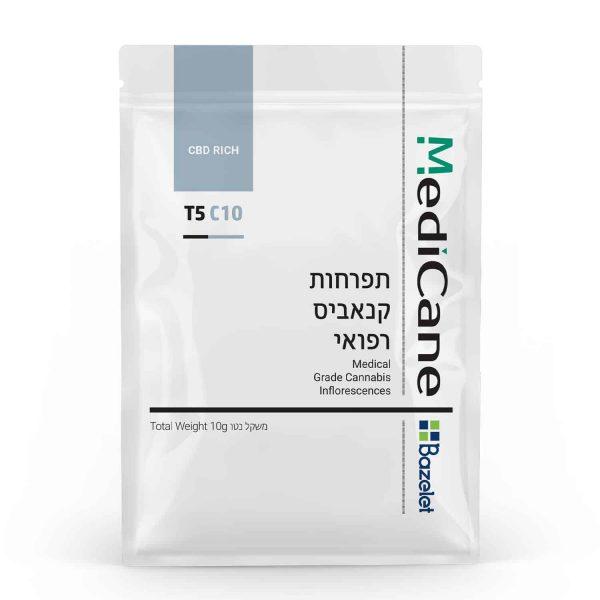 תפרחת קנאביס מדיקיין סאטיבה T5/C10 - Medicane Sativa