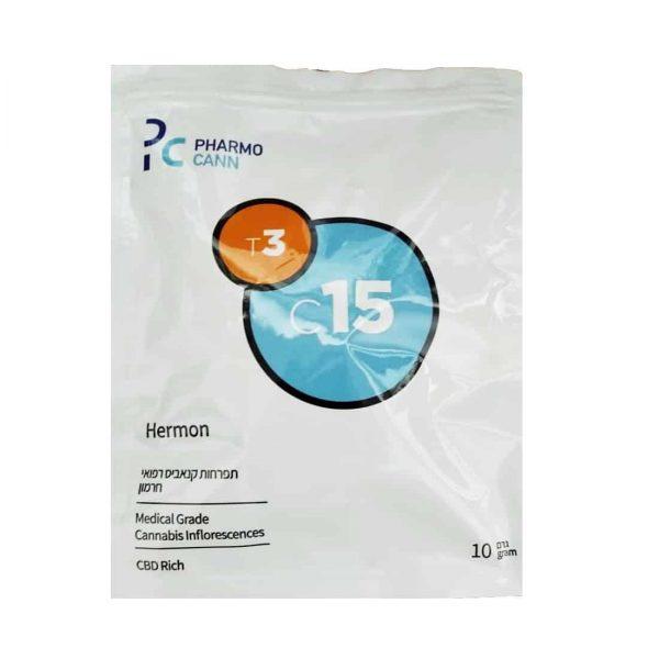 תפרחת קנאביס חרמון היבריד T3/C15 - Hermon Hybrid