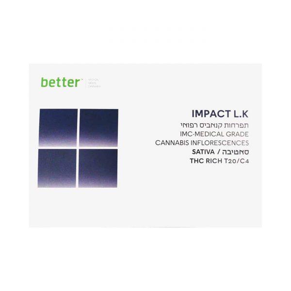 תפרחת קנאביס אימפקט אל.קיי סאטיבה T20/C4 - IMPACT LK Sativa