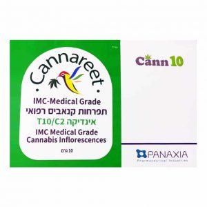 תפרחת קנאביס קנארית אינדיקה T10/C2 - Cannareet Indica