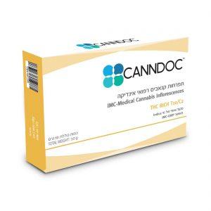 תפרחת קנאביס קנדוק אינדיקה T10/C2 - Canndoc Indica
