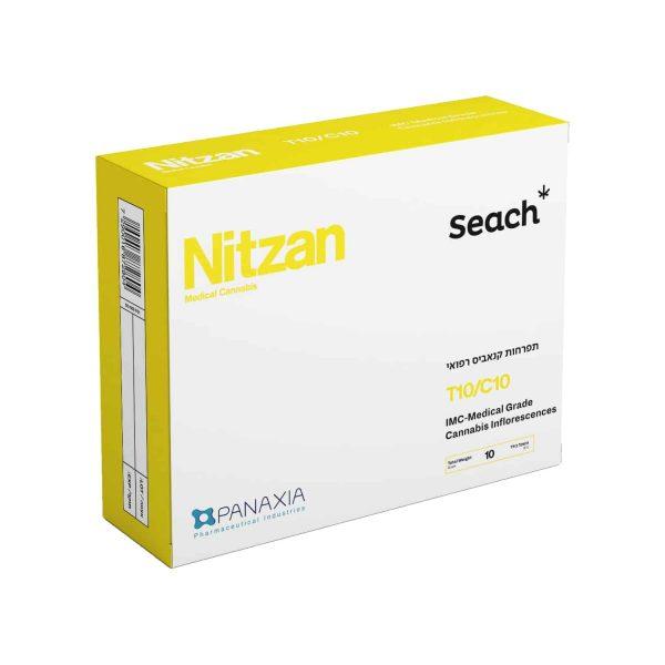 תפרחת קנאביס ניצן היבריד T10/C10 - Nitzan Hybrid