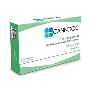 תפרחת קנאביס קנדוק היבריד T5/C5 - Canndoc Hybrid