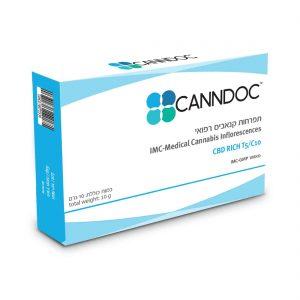 תפרחת קנאביס קנדוק היבריד T5/C10 - Canndoc Hybrid