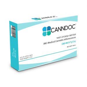 תפרחת קנאביס קנדוק היבריד T3/C15 - Canndoc Hybrid