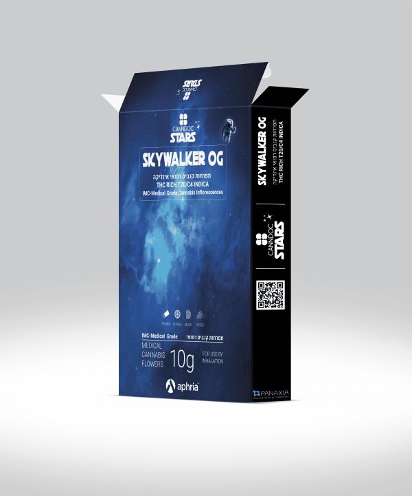 תפרחת קנאביס סקייווקר אוג'י אינדיקה T20/C4 - Skywalker OG Indica