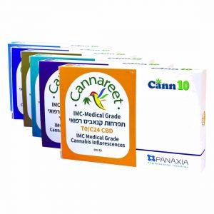 תפרחת קנאביס קנארית אינדיקה T20/C4 - Cannareet Indica