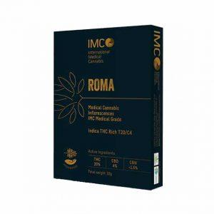 תפרחת קנאביס רומא אינדיקה T20/C4 - Roma Indica