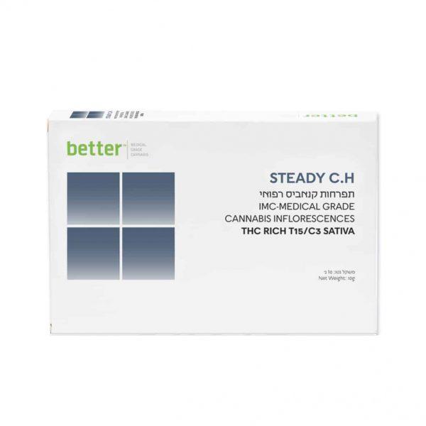 תפרחת קנאביס צ'וקו סאטיבה T15/C3 - STEADY CH Sativa