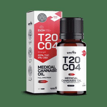שמן קנאביס רפואי אפולון T20/C4