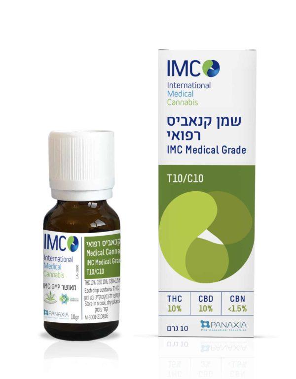 שמן קנאביס רפואי איי אמ סי T10/C10