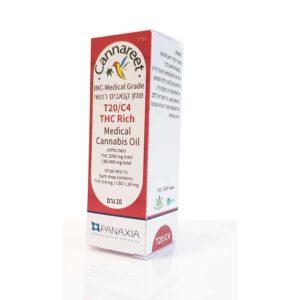 שמן קנאביס רפואי קנארית T20/C4